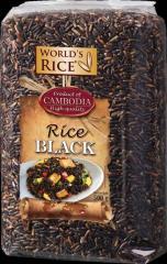 "Rice Black, Cambodia 500г / ""World's"
