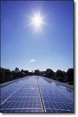 Installations are solar water-heating