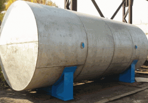 Capacities from stainless steels, volume - 50 cbm