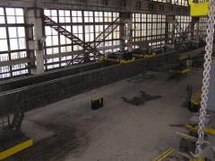 El grifo de puente eléctrico por la capacidad de carga de 5+5
