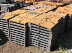 Las planchas de hierro fundido para la defensa de la influencia del coque encandecido de las plazoletas que sirven con de máquina y koksovoy de las partes de la batería, el carril de paso, el revestimiento refractario de la superficie interior del coche k