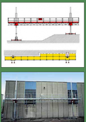 Платформа электрическая  P 405 Bicolonna