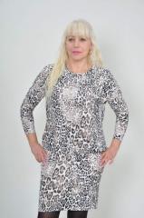 Трикотажное платье №232