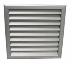 Metal ventilating grates