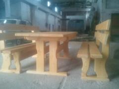 Комплект стол+лавки