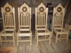 Мебель резная на заказ