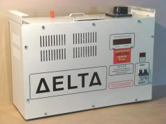 Voltage stabilizer of DELTA-5,5 of kVA.