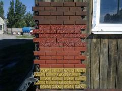 Facing tile (polimerpeschany)
