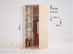 Sliding wardrobe B120 standard