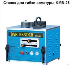 The machine for bending of armature from bays,
