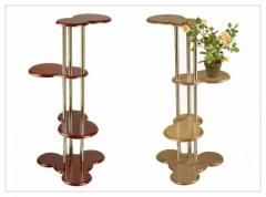 Support, the shelf decorative for flowers