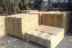 Preparations for europallets, under the order from