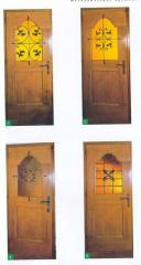 Doors are metal fire-resistan