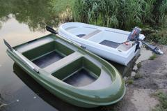 Boats from fibreglass