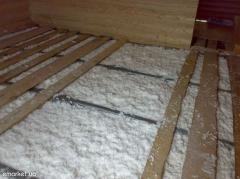 Cellulose heater ecocotton wool the Turmoil from