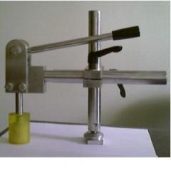 Clip for the formatno-raskroyechny machine