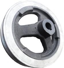 Pulley of the trimmer of a zernometatel ǿ 250 mm