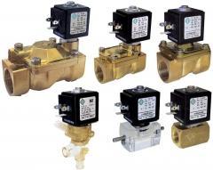 Клапаны электромагнитные (соленоидные) для жидких