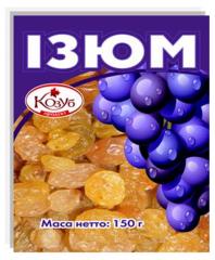Изюм 150г Фирмы Диамант ЛТД/ ГОСТ 6882-88