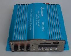 Усилитель МА-200 4-х канальный с FM+ MP3