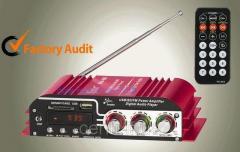4-х канальный усилитель МА-500 с FM+ MP3 2 цвета
