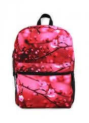 Backpack female the Japanese Oriental cherry, the