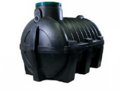 Septic tank from m3 polyethylene 3 (to 4 people)