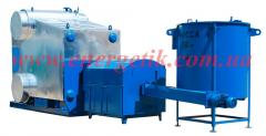 The boiler on alternative types of E-1,0-0,9R(E)