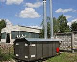 Подогреватели природного газа серии Метан для