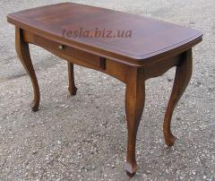 Wooden dining table, 100% massif of an oak