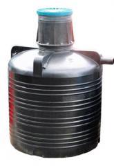 Cesspool (from polyethylene) 3 m3