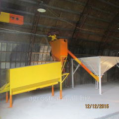 Vibrotable, equipment for purification of grain