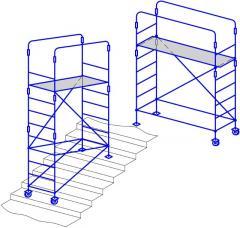 Scaffolding mobile (1,75х0,60)