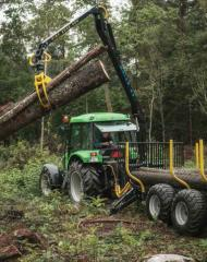 Cranes are logging, logging to buy Cranes, Cranes