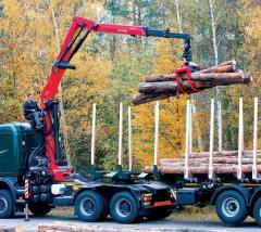 Cranes lifting manipulators hydraulic, lifting