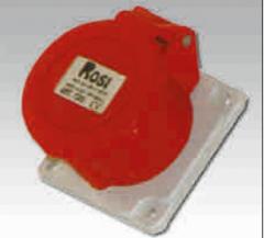 Розетка в щитовом исполнении прямая, IP44