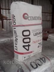 Цемент м-400, Портланд цемент, в мешках 25кг.