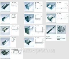 Профиль UW-50 (0, 55 mm) (3м, 4м)  Украина