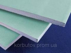 Влагостойкий гипсокартон 12,5 мм  KNAUF  Украина , доставка