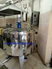 Pass cheese dairy of the SVV-10 brand from the