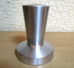 Tamper for coffee from aluminum