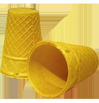 Стаканчик для мороженого вафельный
