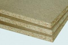 Slabby production of DVP, chipboard, plywood