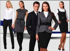 Женская и мужская офисная одежда от производителя