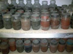 Powders naplavochny PG10N01; PG10N02; PGSR;