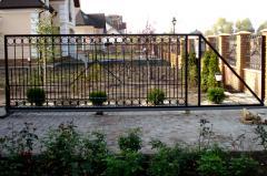 Ворота и калитки кованые металлические