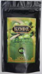 Кофе зеленый зерновой 100% арабика 250гр.