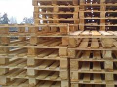 The pallet facilitated 1200х800