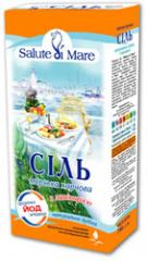Salt natural food sea Salute di Mare small with a