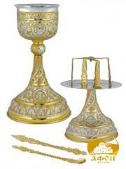 Eucharistic set silvering overgilding